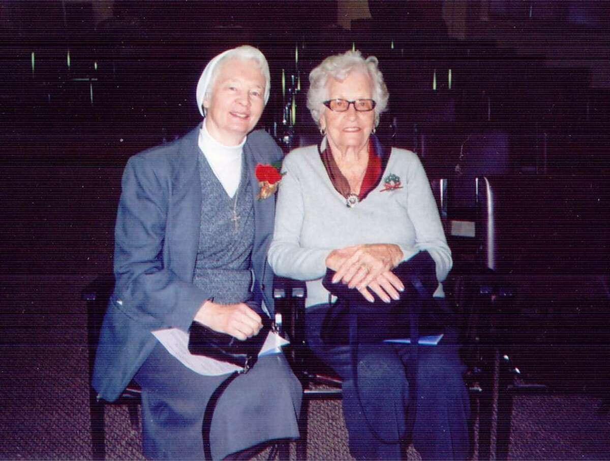 Sr. Frances Smalkowski, CSFN and her mother, Frances Schenck