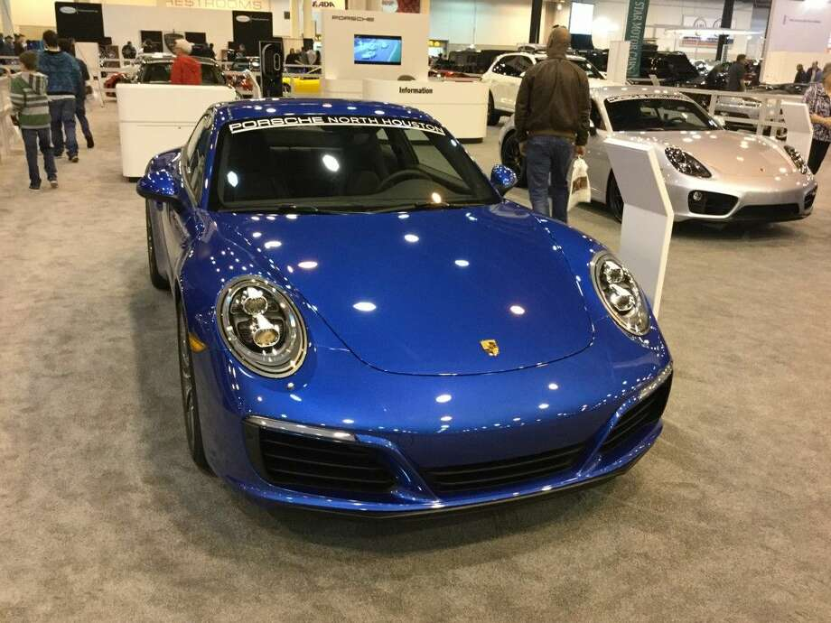 2017 Porche 911 And The Huracan Spyder Debut At The Houston Auto
