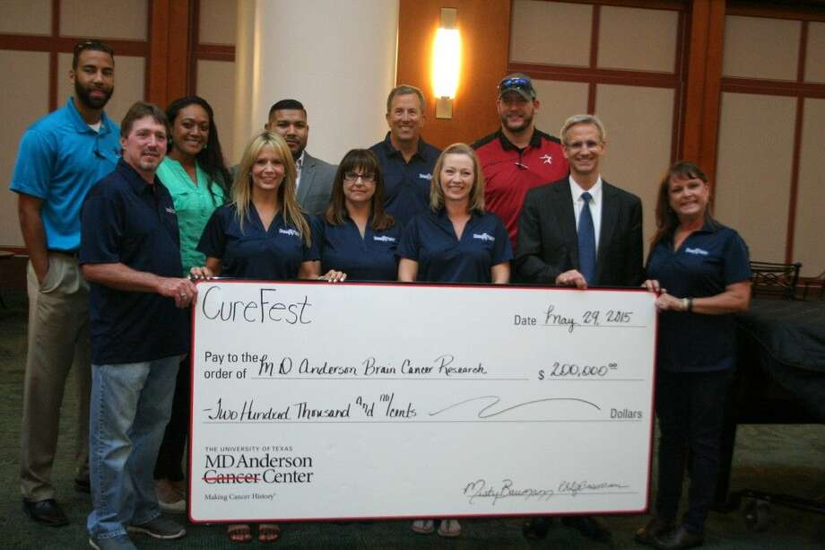 Fighting Cancer: CureFest presents $200,000 check to MD