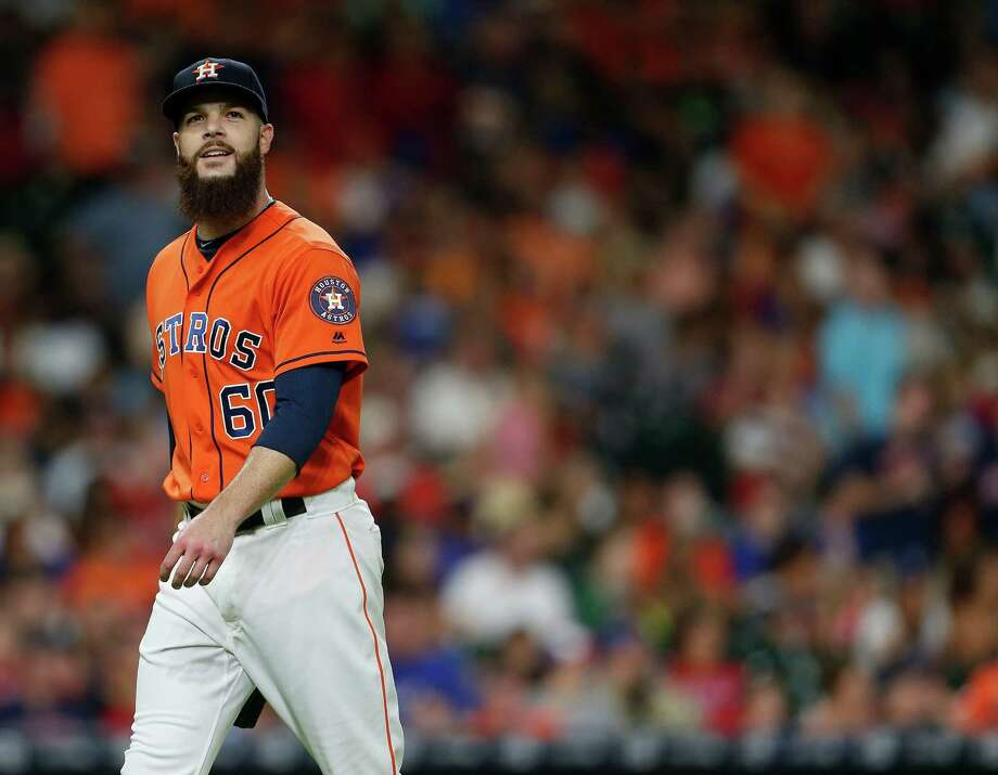 Dallas  Keuchel  didn't pitch after Aug. 27 this year. Photo: Karen Warren, Staff / © 2016 Houston Chronicle