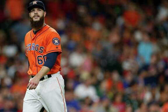 Dallas  Keuchel  didn't pitch after Aug. 27 this year.
