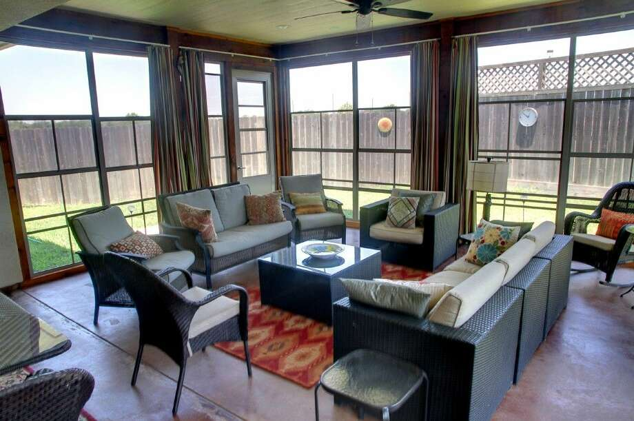 Sunspace Texas' easy-operating, custom-made WeatherMaster Plus stacking door system protects homeowners and their guests from inclement weather, blistering sun and insects. See more at the 6th Annual Sugar Land Home & Garden Show, Jan. 30 and 31. Photo: Courtesy Photo