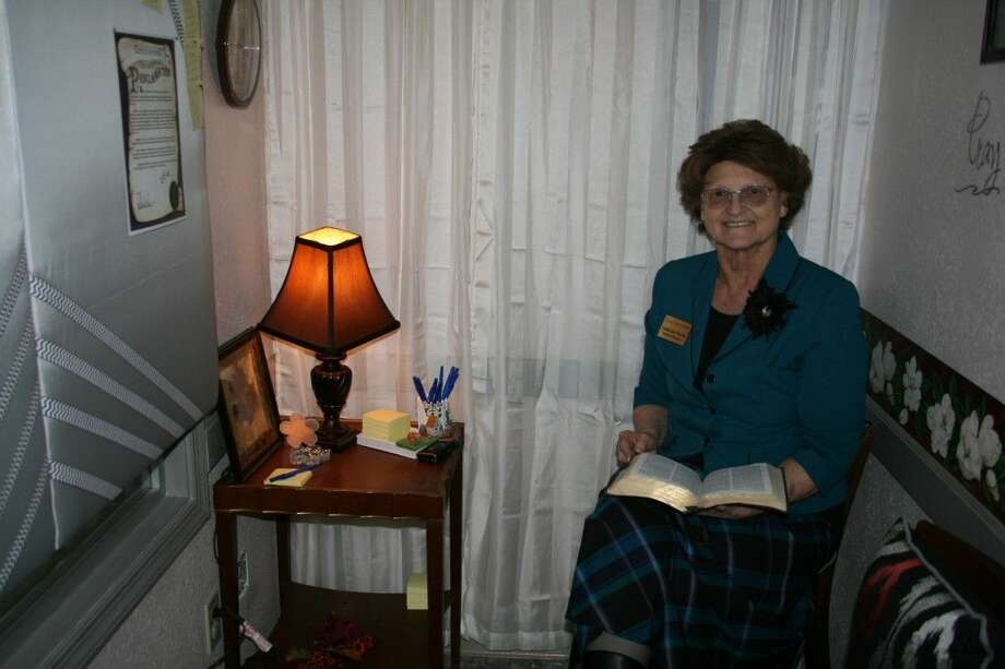 Linda Martin Sits In A Prayer Closet That Has Been Established At Calvary  Medicalu0027s Main Clinic