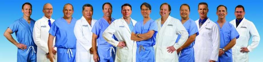 D. Dean Dominy, III, M.D., Hand & Upper Extremity, Orthopedic Surgery; Kenneth M. Renney, M.D., Sports Medicine; Jeffrey B. Wood, M.D., Orthopedic Spine Surgery; Eddie T. Matsu, M.D., General Orthopedics, Joint Replacement Surgery; Mark W. Maffet, M.D., Knee and Shoulder Surgery, Sports Medicine; Timothy C. Sitter, M.D., Knee and Shoulder Surgery, Sports Medicine; Vincent C. Phan, M.D., Hand & Upper Extremity, Orthopedic Surgery; Carl A. Hicks, M.D., Joint Replacement Surgery; Ray R. Valdez, M.D., Foot & Ankle, Orthopedic Surgery; David A. Braunreiter, M.D., Sports Medicine, Concussion Management; Anthony J. Muffoletto, M.D., Orthopedic Spine Surgery and Jeffrey A. Kozak, D.O., Sports Medicine, Concussion Management. Photo: Photo Courtesy Houston Methodist Sugar Land Hospital