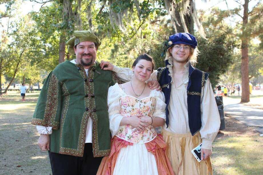 Cast members from Much Ado About Nothing bring Shakespeare to Burroughs Park. Photo: Submitted