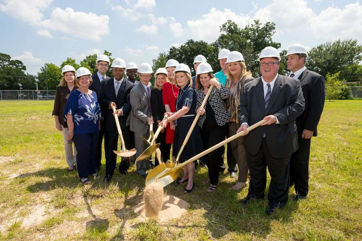 The Women's Home and community partners break ground on a new affordable housing apartment complex for homeless women and children in Spring Branch. Construction for the apartment complex with two and three-bedroom homes is expected to be completed by early Fall 2016.