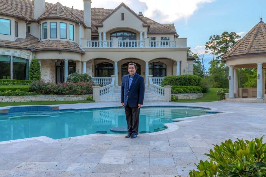 Keller Williams Realty The Woodlands Agent Gary Giles Stands In Front Of  Colonial Haven,