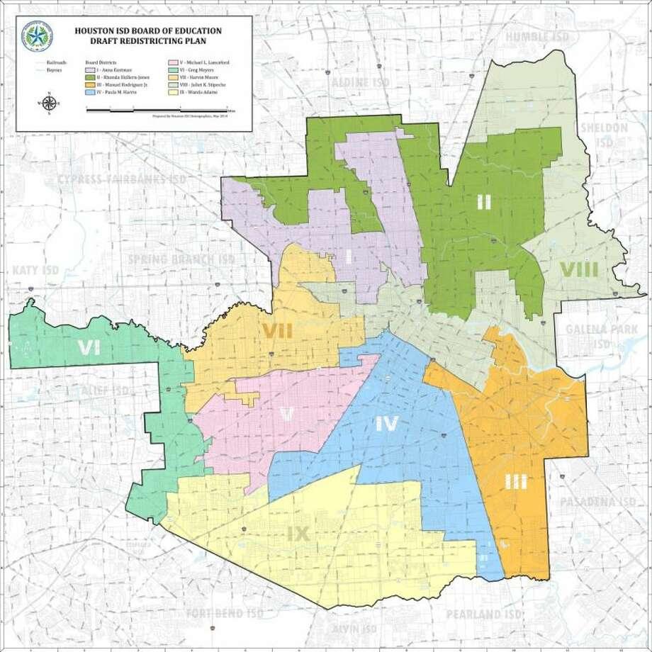 HISD seeking public input to redraw trustee district boundaries ...