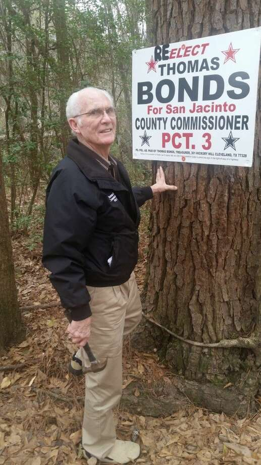 Thomas Bonds is seeking reelection to the position of San Jacinto County Pct. 3 commissioner. If reelected, this would be his fifth term as commissioner. Photo: Submitted