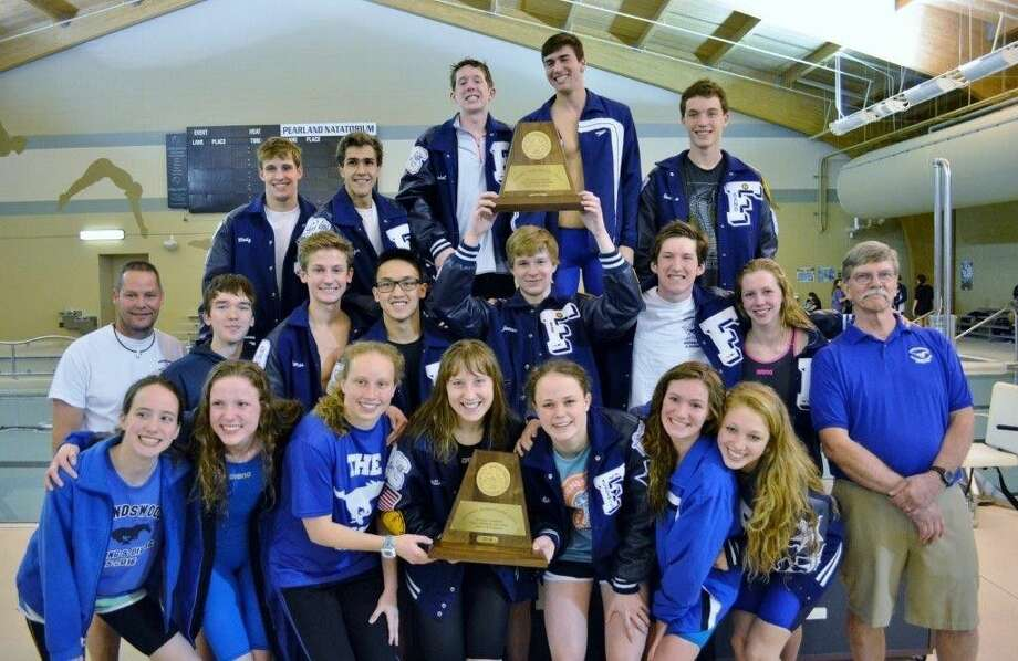 The Friendswood swimming and diving teams will take numerous representatives to the state swim meet after winning the Region 6-6A championships. Photo: SUBMITTED PHOTO