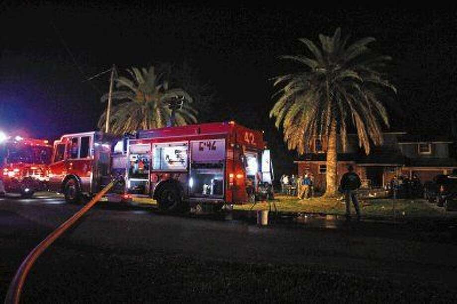 Two people died and another was critically injured in a house fire on Llano Street. Photo: Kar B Hlava