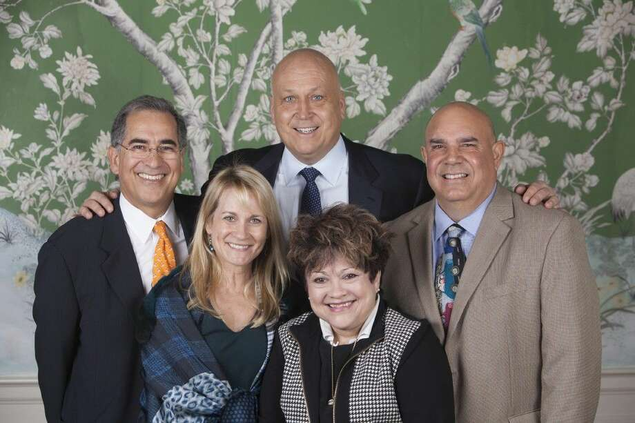 SpringSpirit Founder Kenny Baldwin, former MLB All-Star and keynote speaker Cal Ripken, Jr., former MLB pitcher Allan Ramirez and wife Hilda and president/founder Melissa Baldwin.