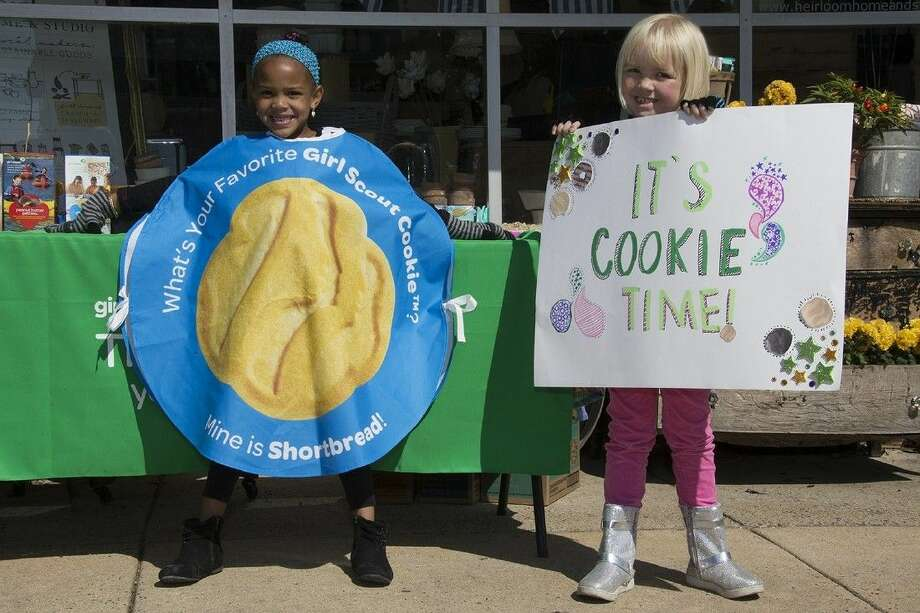 Girl Scouts from the San Jacinto Council will begin selling Girl Scout Cookies in front of retail locations across southeast Texas beginning February 12 as part of the Girl Scout Cookie Program. The program is the largest girl-led business in the world and teaches girls essential skills to succeed personally and professionally. The cookie sale ends March 20. Photo: Submitted Photo