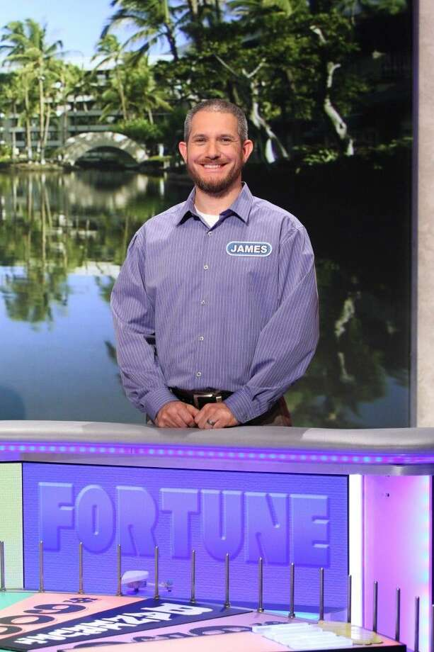 """Cypress resident James Ramey recently returned home as a big winner after an appearance on the """"Wheel of Fortune."""" Photo: Carol Kaelson Photographer"""