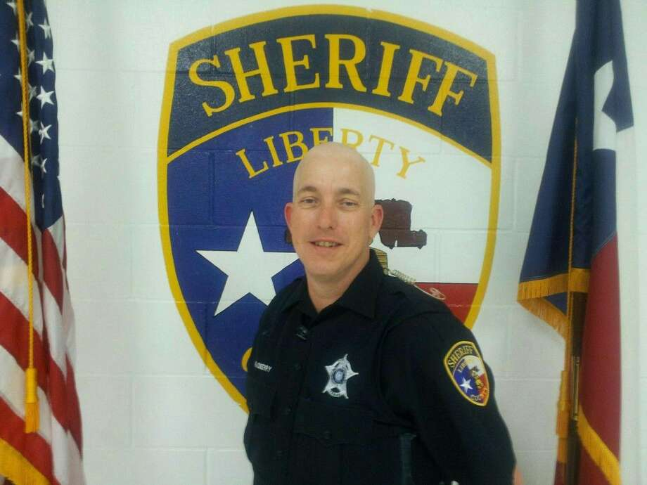 Deputy Steven Rasberry is the employee of the month in June for the Liberty County Sheriff's Office. Photo: Submitted