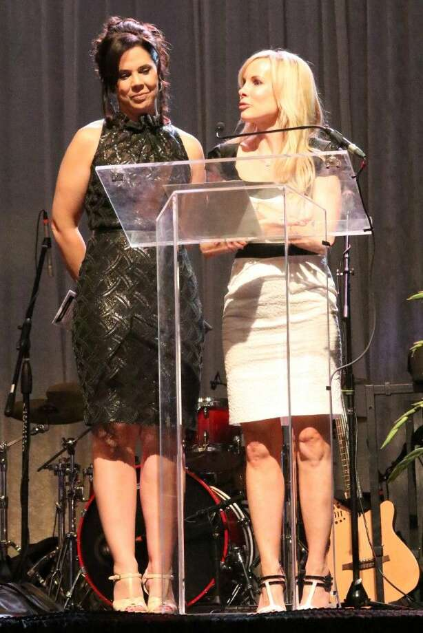 Event co-chairs Stephanie Milstead and Ally Seder.