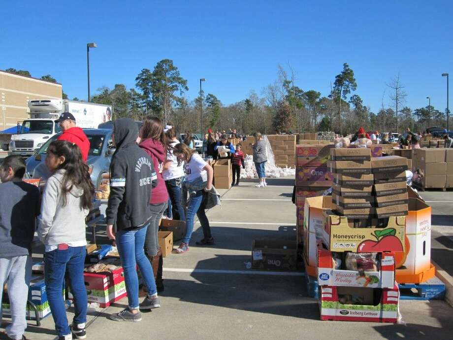 Montgomery County Food Bank will host a food fair sponsored by The Woodlands United Methodist Church at Moorehead Stadium on Saturday, February 20. The event, which is open to any member of the community that does not have regular access to nutritional assistance, will take place from 9:30 a.m. to noon at 3200 West Davis Street in Conroe. Photo: Submitted