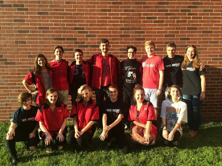 Members of the Woodlands High School Improv troupe have raised thousands of dollars for charity through performances. The troupe is based out of the theatre department.