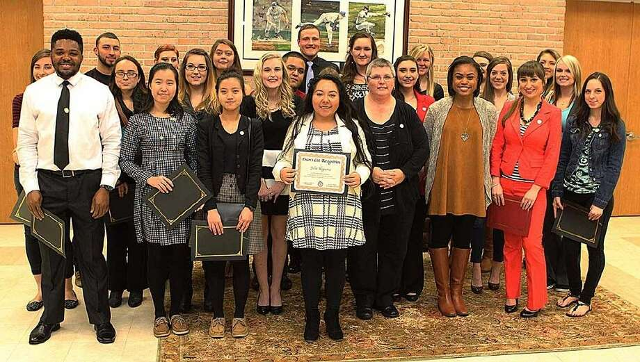 Students were recognized for making the ACC Fall 2015 Dean's List during a reception on February 3.