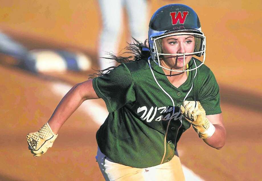 The Woodlands' Aubrey Leach was named the Montgomery County Player of the Year.