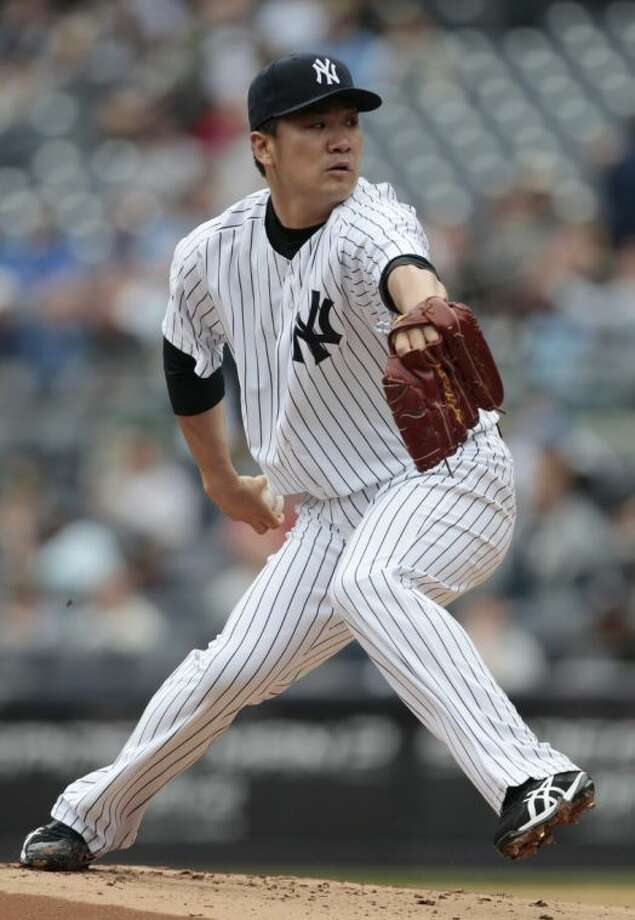 New York Yankees starting pitcher Masahiro Tanaka led the American League with a 2.10 ERA entering Thursday's games.