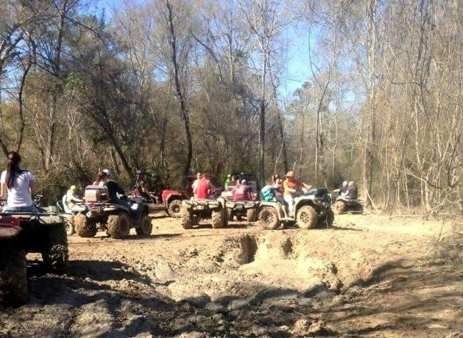 The second annual memorial event for Josey Lynn Scott, which was held at Creekside Offroad Ranch on Jan. 30, brought out hundreds of attendees to ride for the cause. Photo: Stephanie Buckner