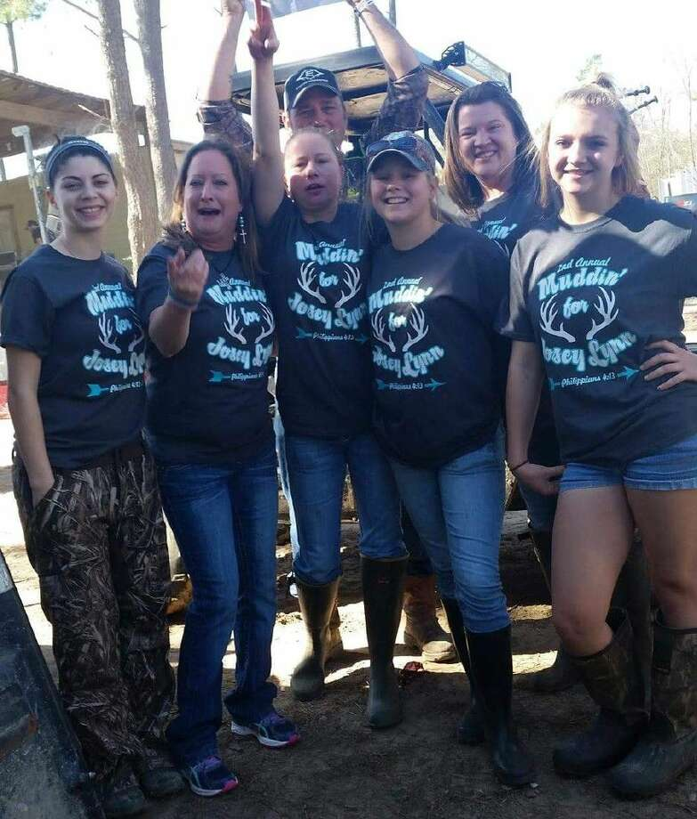 "Family and friends of Josey Lynn Scott turned out for the second annual ""Muddin' for Josey Lynn"" memorial event on Saturday, Jan. 30. Photo: Stephanie Buckner"