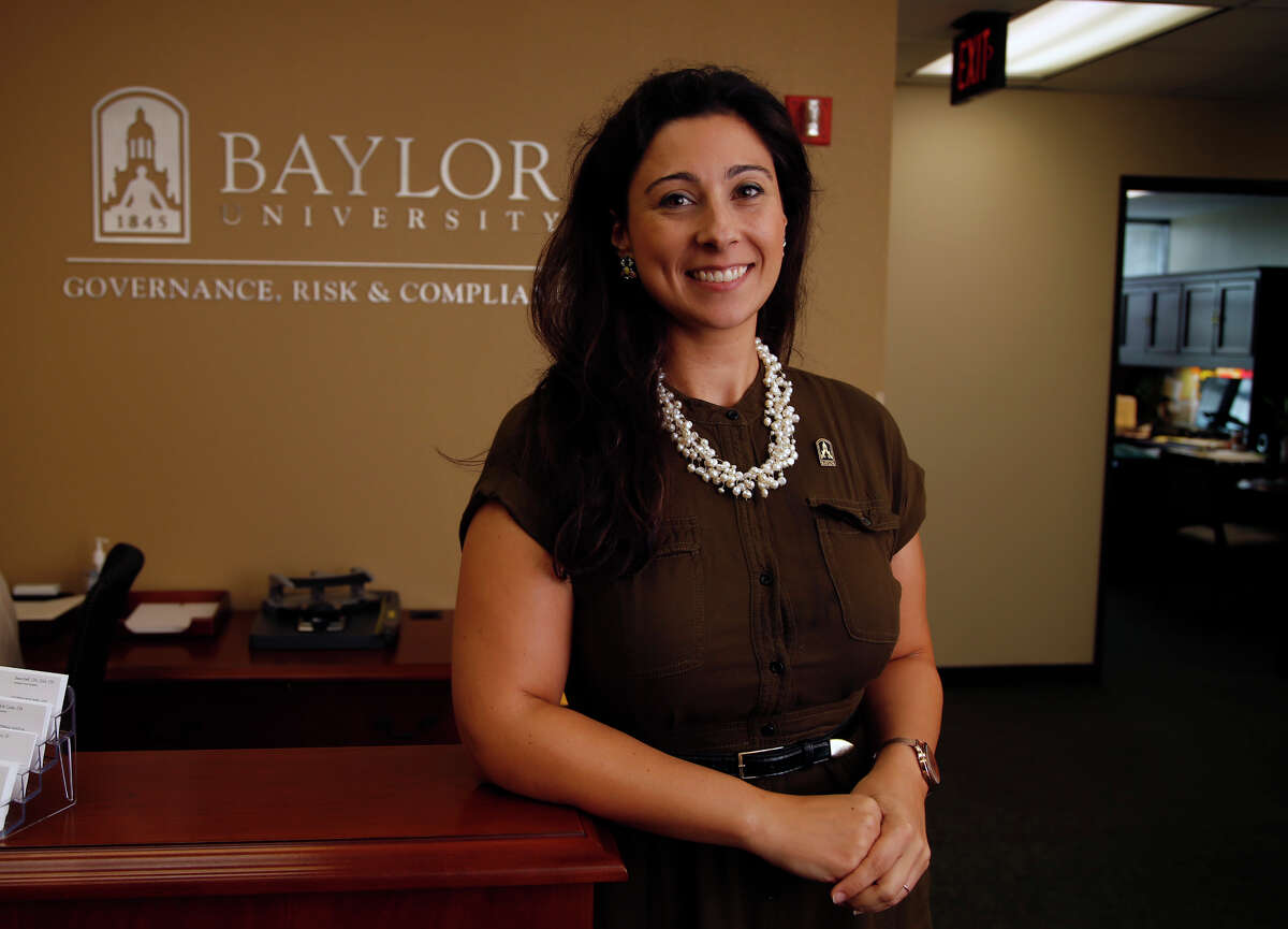 File, Baylor's Patty Crawford in her office, Sept. 4, 2015. (Rod Aydelotte/Waco Tribune Herald)