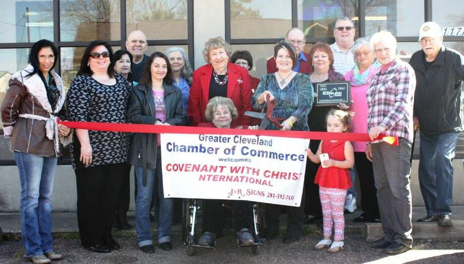 Covenant with Christ International held a ribbon cutting with the Greater Cleveland Chamber of Commerce on Friday, Feb. 5. Photo: Stephanie Buckner