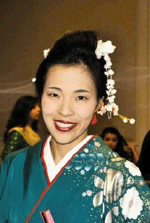 Traditional Japanese dancer Risa Tallent will perform as part of the Tanabata celebrations on July 7 at The Woodlands Children's Museum.
