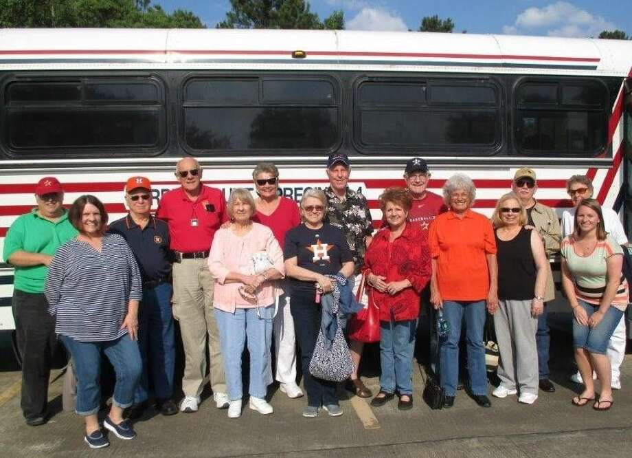 The Tomball Regional Medical Center Senior Circle members recently took a trip to watch the Astros. Photo: Submitted
