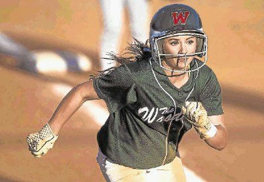 The Woodlands' Aubrey Leach was named the Montgomery County Player of the Year. Photo: Jason Fochtman