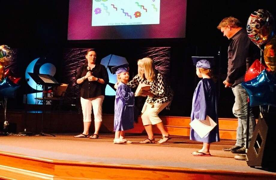 The kids received great awards and graduates received their diplomas.