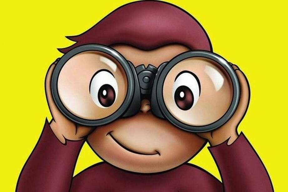 Curious George will swing by the Children's Museum of Houston on Feb. 13. Photo: Courtesy Photo