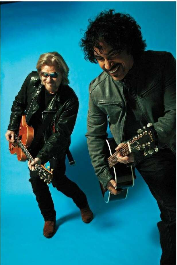 Daryl Hall and John Oates will perform at Cynthia Woods Mitchell Pavilion in The Woodlands on May 15. Photo: Courtesy Photo