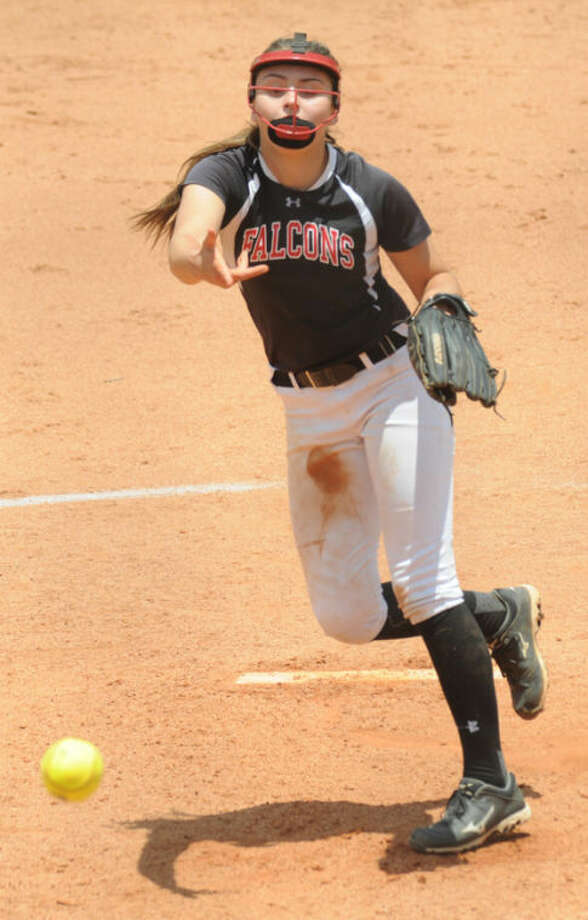 Huffman's Megan Unroe was named all-state honorable mention pitcher.