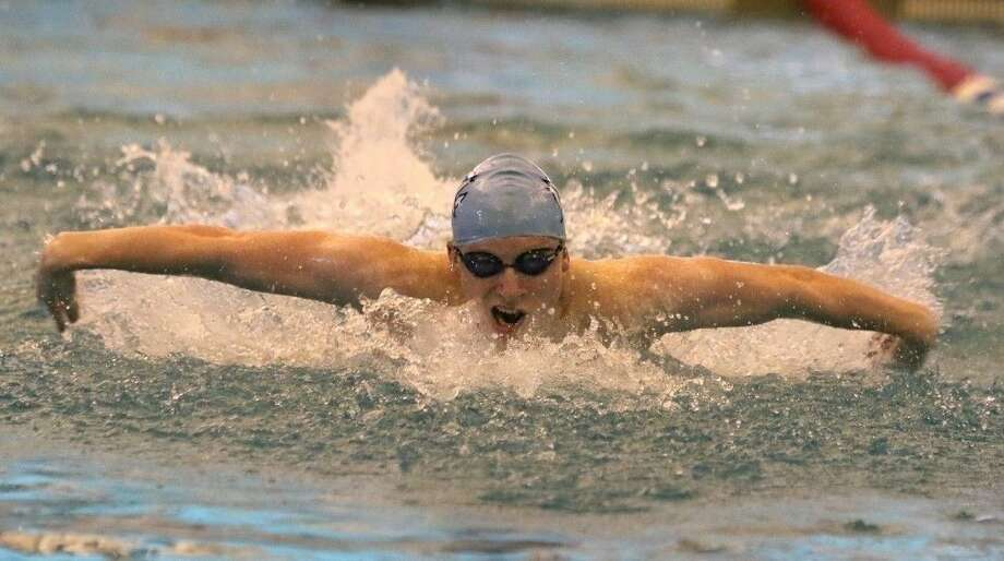 Colin Crow and Clements qualified for the Class 6A state championships in all three relays, including two Region 6-6A gold medals. Crow will also swim the 100-yard butterfly. Photo: HCN File Photo