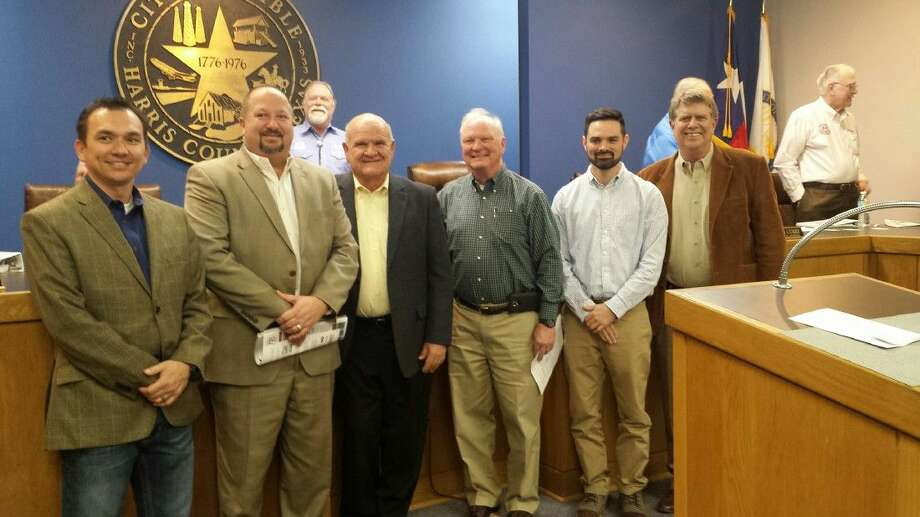 Representatives from the Lake Houston Economic Development Partnership and the city of Humble met during the city council's Feb. 11, 2016, where council members approved to disburse $10,000 to the Lake Houston EDP.