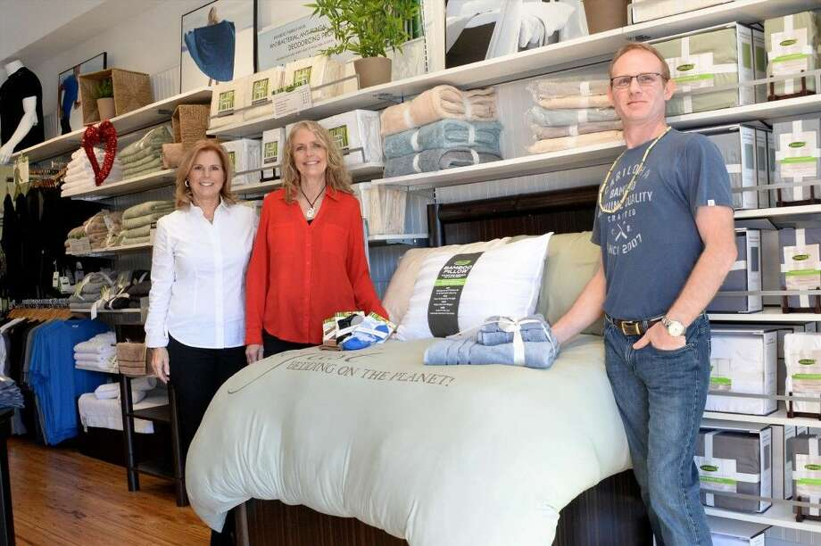 Softness and sustainability are building a customer base for bamboo-based bedding and active wear at Cariloha Bamboo, say co-owners Tracy Young and Linda Whittington. Photo: Craig Moseley