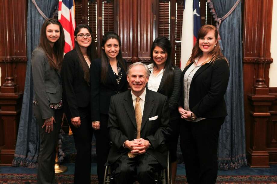 Spring native Kaitlyn Tyra, far left, recently participated in the New Leadership Texas program, which is devoted to cultivating female leaders. She is a student at Sam Houston State. Photo: Submitted