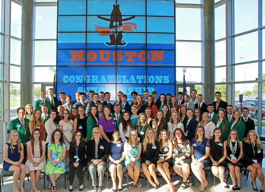 The Houston Livestock Show and Rodeo awarded 70 Texas 4-H members with four-year, $18,000 college scholarships totaling $1.26 million during the Texas 4-H Roundup in College Station.