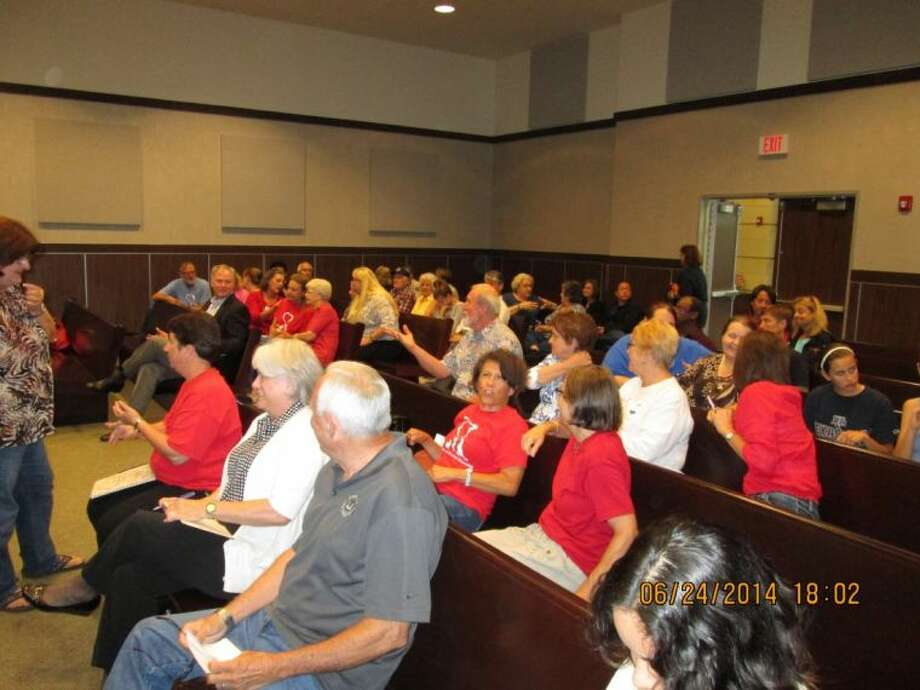 The community of Friendswood and volunteers from the Animal Shelter showed up to support the rights of the animals during a meeting with the Friendswood Animal Shelter Advisory Committee on June 24 at Municipal Court.