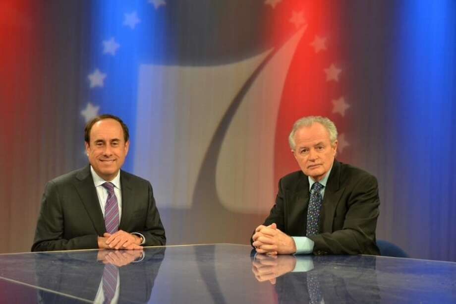 "Gary Polland and David Jones, hosts of ""Red, White and Blue"" PBS, are scheduled to appear at the Tuesday, July 15, meeting to the Cypress-Tomball Democrats. Photo: Submitted Photo"