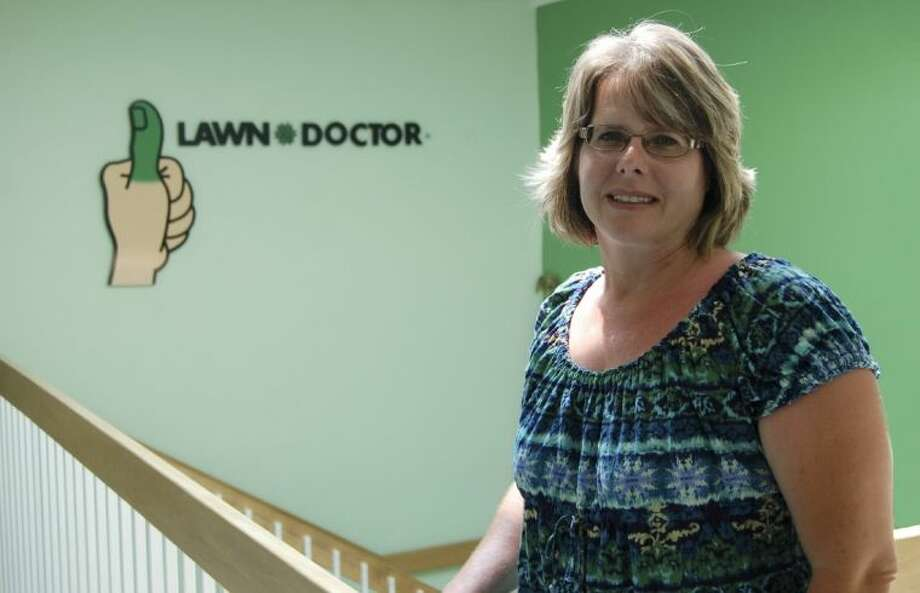 Kris Polmanteer has opened a new Lawn Doctor to serve the Tomball and Magnolia areas. Photo: Submitted Photo