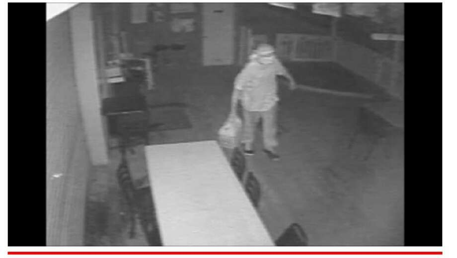 The person in the photo is a suspect regarding the fire that occurred at the Cross Track Ice House at 200 Magnolia in Old Town Spring on Thursday June 11 at 4:36 p.m. Photo: Submitted