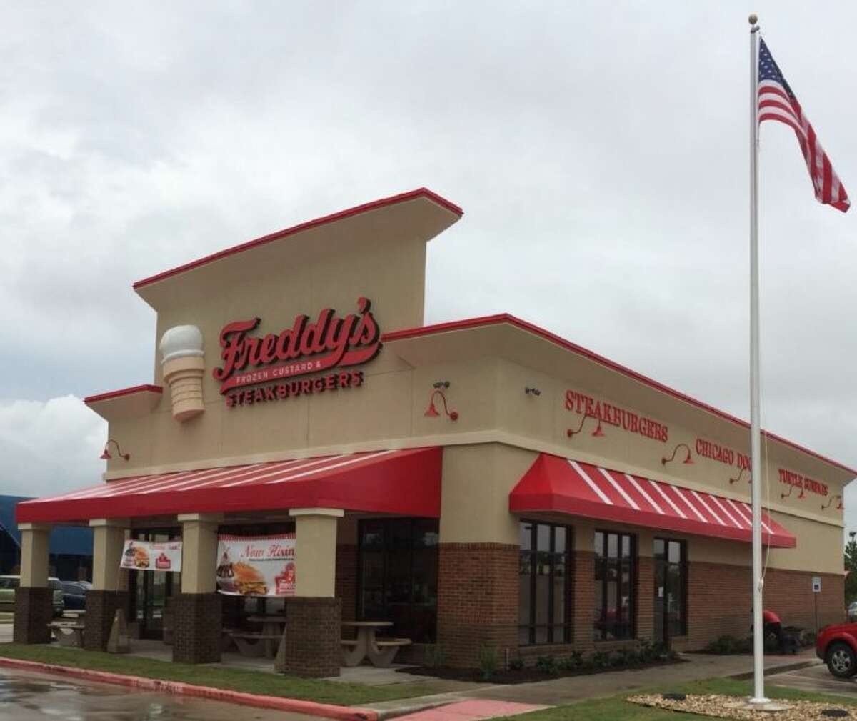 Fast-casual restaurant chain, Freddy's Frozen Custard & Steakburgers, opened July 1 at 32910 FM 2978 in the Westwood Village shopping center.