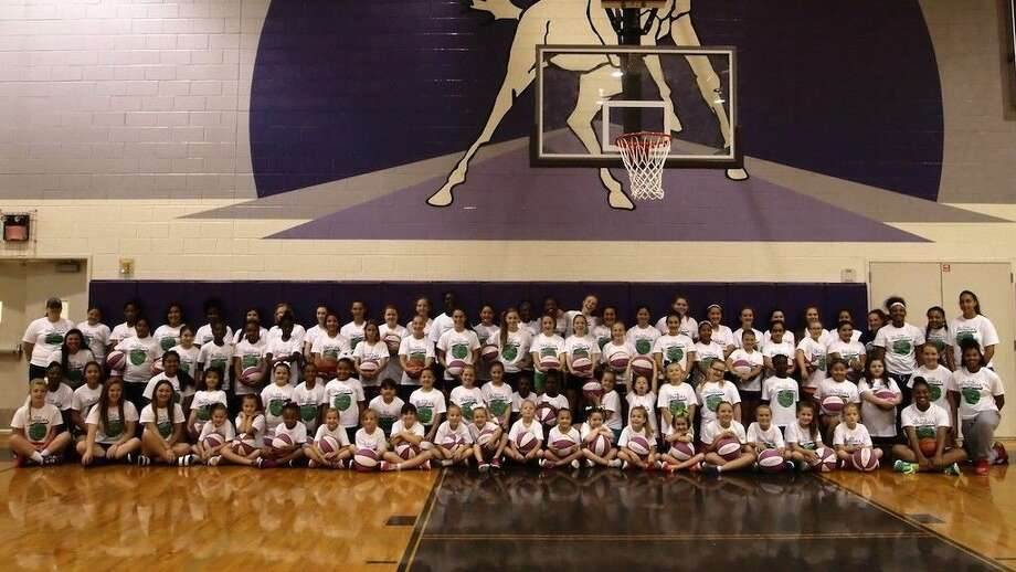 Lady Broncos basketball camp was held at the Dayton High School gym the week of June 15. Photo: Casey Stinnett