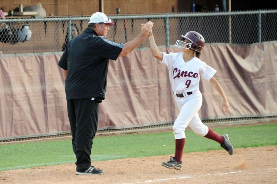 Cinco Ranch outfielder Kelli Martinez was voted to the Texas Sports Writers Association all-state softball team. Photo: Craig Moseley
