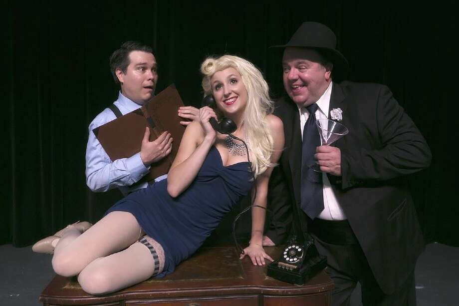 Stage Right of Texas, resident theatre company at the historic Crighton Theatre, presents Mel Brooks hilarious musical comedy The Producers Feb. 12-28. Photo: Courtesy Photo