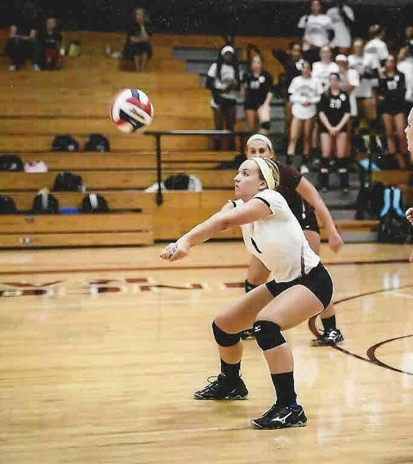 Cinco Ranch senior outside hitter/defensive specialist Shea Madeley committed to TCU this past week. Photo: Submitted Photo